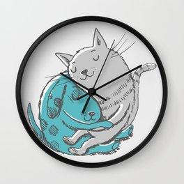Hugtime Blues Wall Clock