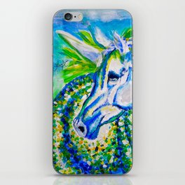 A Unicorn Named Aurora iPhone Skin