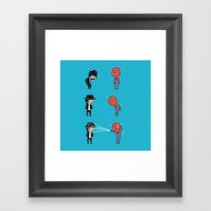 Dance off Framed Art Print