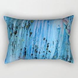 Blue Cave Rectangular Pillow