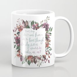The Hate U Give Angie Thomas Quote Coffee Mug