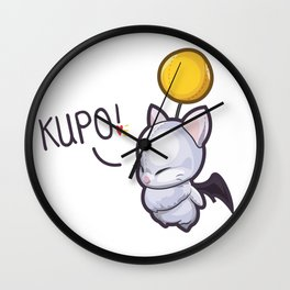 Wind-Up Moogle – Kupo! Wall Clock