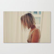 Hotel Room Canvas Print