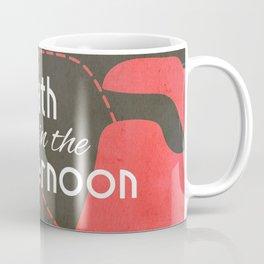 Death in the Afternoon, Erenst Hemingway, book cover, classic novel, bullfighting stories, Spain Coffee Mug