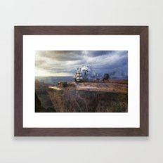 Prepare For Takeoff Framed Art Print