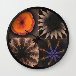 Shamaness Nude Flowers  ID:16165-134337-14980 Wall Clock