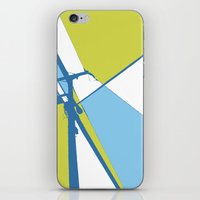 the wire iPhone & iPod Skins featuring High Wire by Ryan Johnson