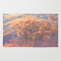 heaven Area & Throw Rugs featuring HEAVEN by AZZURRO ARTS