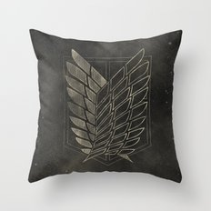 Attack on Titan  Throw Pillow