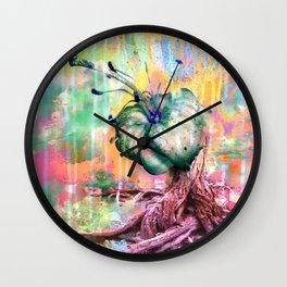 Garden of a War  Wall Clock