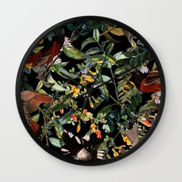 Floral and Birds XLIV Wall Clock