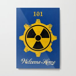 Vault 101 Metal Print