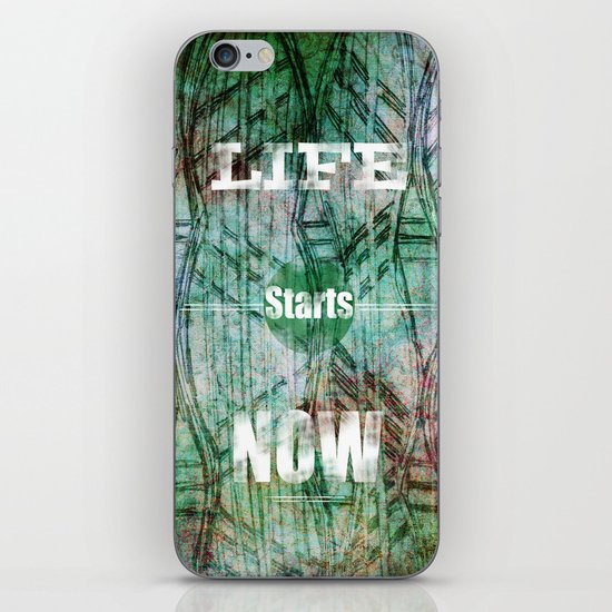 Life Starts Now iPhone & iPod Skin