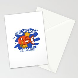 Use Splash Attack! Stationery Cards