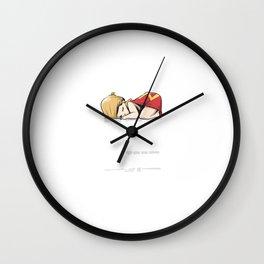 Nap Team Captain Wall Clock