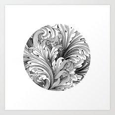 CIRCLE Art Print