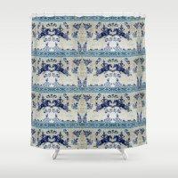 bali Shower Curtains featuring bali spell by Maria Fernanda Furtado