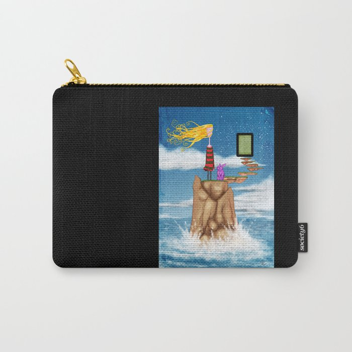 ...Unadjusted... Carry-All Pouch
