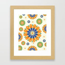 Flowersparkle Framed Art Print