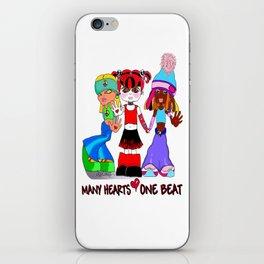 Beat Girlz iPhone Skin