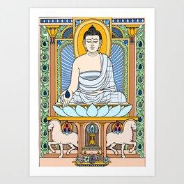 BUDDHA 02 Art Print