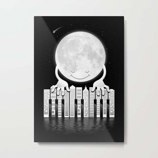 City Tunes Metal Print