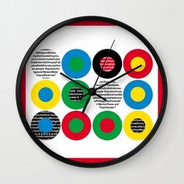 Olympic celebration Wall Clock