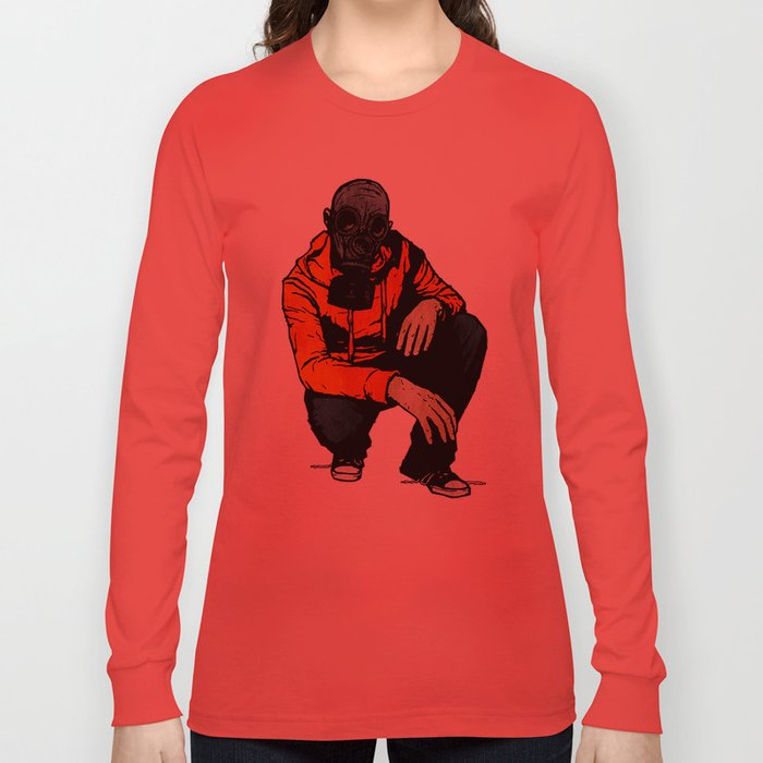 Waiting For (Inevitable) Trouble Long Sleeve T-shirt