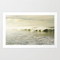 Pismo Waves Art Print