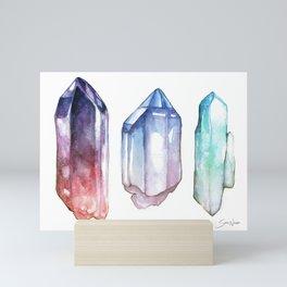 Crystals Mini Art Print