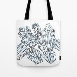 Blue Around The Edges Tote Bag