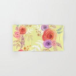 Floral Baby Hand & Bath Towel
