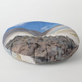 Atacama Salt Lake Floor Pillow