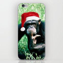 Bah Humbug Chimp iPhone Skin