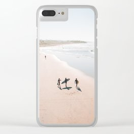 Surfers Paradise Clear iPhone Case