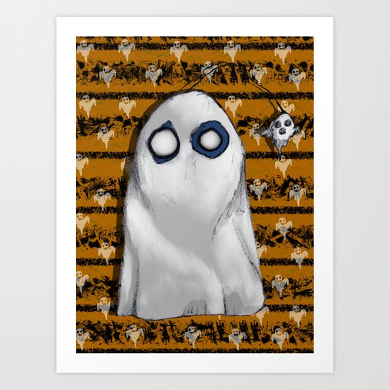 Bob's Ghost Art Print