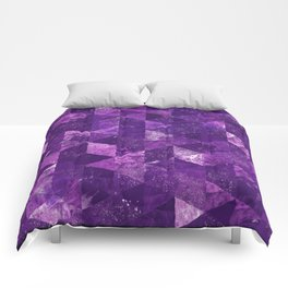 Abstract Geometric Background #35 Comforters