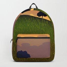 Landscape summer Backpack