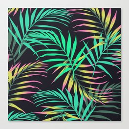 Summer Bliss Leaves  Canvas Print