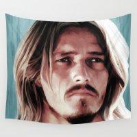 christ Wall Tapestries featuring Jesus Christ Superstar by Gabriel T Toro