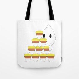 Peekaboo Ghost Tote Bag
