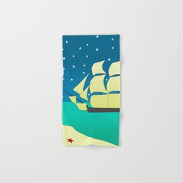 Spanish Galleon Hand & Bath Towel