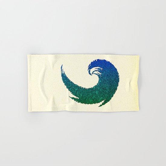 - summer wave - Hand & Bath Towel