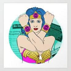 Occupy Wall Street POP ART Art Print
