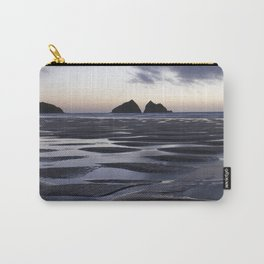 Gull Rock, Holywell Bay, Cornwall, England, United Kingdom Carry-All Pouch