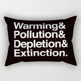 Ecology Issues Rectangular Pillow