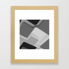 Cave Person Framed Art Print