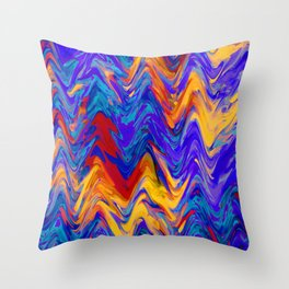 dreamland waves Throw Pillow