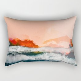 water world Rectangular Pillow
