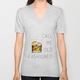 Call me old fashioned print Unisex V-Neck